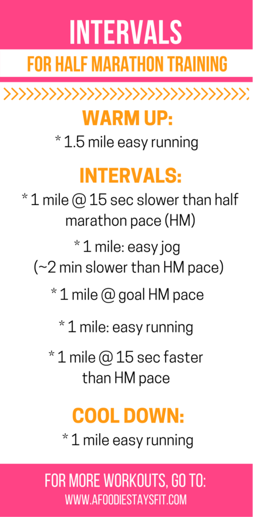 how to train for a half marathon in 1 month