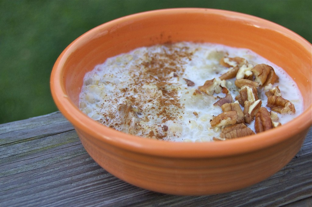 coconut brown rice breakfast bowl 1 c cooked brown rice i used short ...