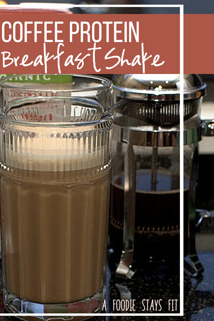 Coffee Protein Breakfast Shake