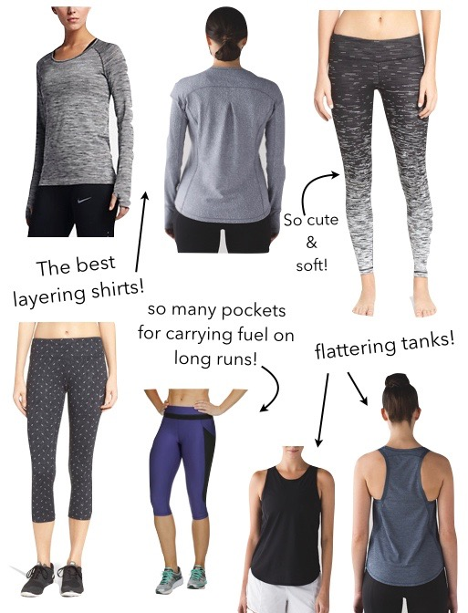 best running clothes for spring