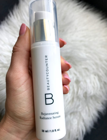 Beautycounter Radiance Serum Review