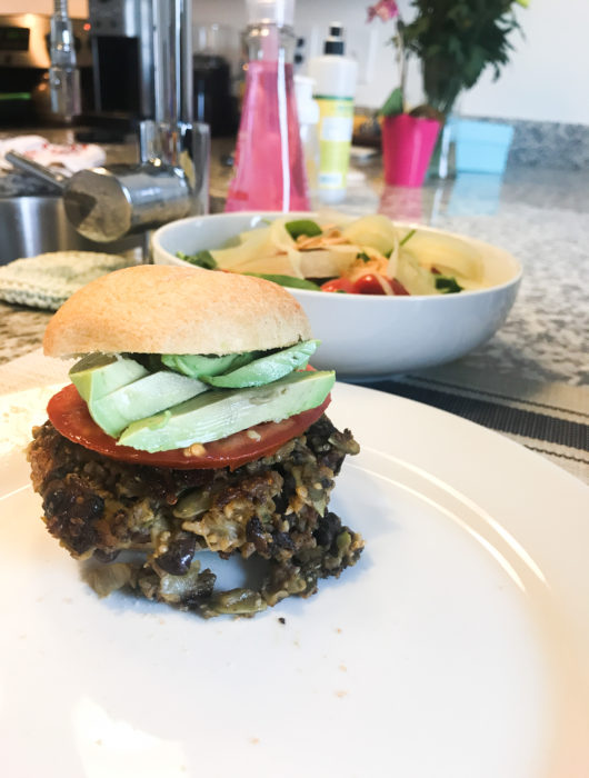 gluten free black bean burger recipe