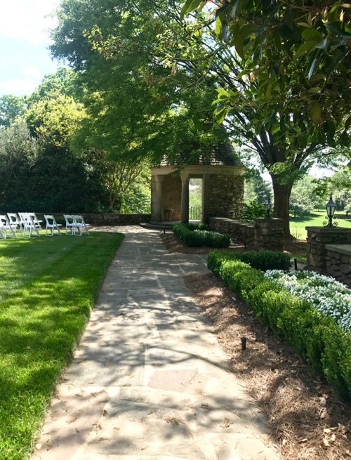 Graylyn White Garden Wedding